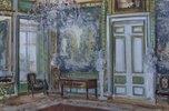 Gobelinwand des Ankleidezimmers im Palast von Fürst Scheremetjev