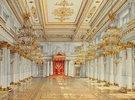 Die St.Georgs-Halle im Winterpalast von St.Petersburg