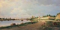 Ansicht von Pskow