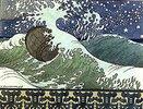 Illustration zu Puschkin's 'Das Märchen des Zaren Saltan'