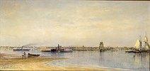 Die Ufer der Newa