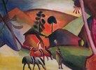 Indianer auf Pferden