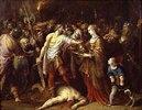Salome empfängt das Haupt Johannes` des Täufers