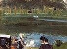 Am Teich im Bois de Boulogne