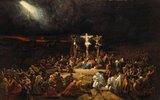 Kreuzigungs-Szene