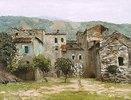 Häuser bei Bordhigera (Nord-Italien)