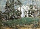 Weisses Haus im Park