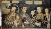 Die Familie des Pfalzgrafen Ludwig II. zu Zweibrücken. (Kopie nach Gertner)