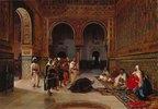 Treueschwur in der Halle Abencerrajas in der Alhambra von Granada