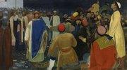 Die Hinrichtung eines Mannes durch den Fürsten Gleb in Nowgorod