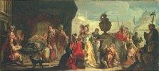 Der syrische König Seleucus am Bett seines liebeskranken Sohnes Antiochus