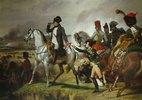 Napoleon Bonaparte in der Schlacht von Wagram. 06. Juli
