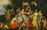 Europa auf dem Stier. 1621/1622. Die Landschaft von Jan Brueghel d.J
