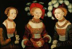Die Prinzessinnen Sibylla, Emilia und Sidonia von Sachsen