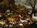 Zug der Tiere zur Arche Noah