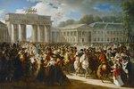 Einzug Napoleon Bonapartes in Berlin am 27. Oktober