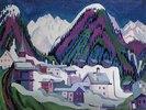 Dorf Monstein bei Davos