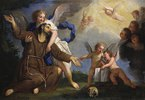 Der heilige Franziskus empfängt die Stigmata