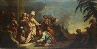 Joseph emfängt seine Brüder in Ägypten