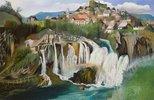 Der Wasserfall von Jajce