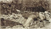 Vergewaltigt. Blatt 2 aus der Folge 'Bauernkrieg'