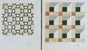 Mosaiken der Markuskirche in Venedig. 1838. 2 Blätter (unten)