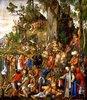 Marter der zehntausend Christen unter Hadrian und Antonius (oder Diokletian)