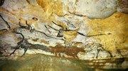 Höhle von Lascaux. Rechte Wand des Grossen Saales der Stiere. Ca. 17.000 v.Chr