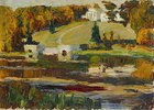 Herbststudie Rußland 1901 (oder: Achtyrka)