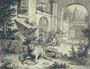 Fabelillustration: Die Katze und die Fledermaus