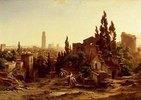 Verona, vom Giardino Giusti gesehen