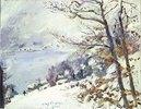 Der Walchensee im Winter