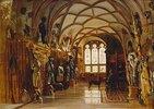 Die Waffenhalle auf Schloss Sigmaringen