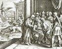 Die Rückkehr des Tobias Tobit und Heilung seines Vaters durch Fischgalle