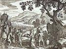 Abraham und Melchisedech