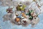 Allegorie der Vernichtung der Irrgläubigen (Detail eines Deckengemäldes)