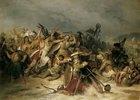 Schlacht zwischen Germanen und Römern am Rhein