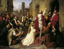 Die Wiedertäufer (Johann van Leyden tauft ein Mädchen)