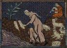 Die Aussetzung von Romulus und Remus (Miniatur aus einer franko-flämischen Weltchronik)