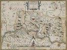 Pauluskarte des Hochstifts Münster aus: 'Prodromus Geographicus...'. Köln