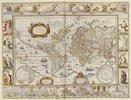 Weltkarte. Novus Atlas, Das Ist Welt-Beschreibung. Amsterdam