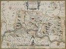 Karte der Fürstabtei Corvey, aus: Prodomus Geopgraphicus [...]. Köln