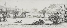 Les Miseres et les Mal-Heurs de la Guerre (Blatt 12): Die Erschießung