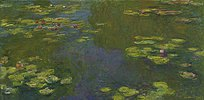 Der Seerosenteich (Le bassin aux nympheas)