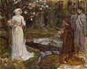 Dante und Beatrice