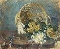 Chrysanthemen oder der umgefallene Korb
