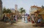 Der Marktplatz in Limburg, Niederlande