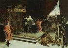 Kolumbus am spanischen Hof nach seiner Rückkehr aus Amerika