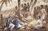 Einer von 13 Drucken aus: Die Reisen des Captain Cook