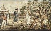 Oatehite. Aus: Die Reisen des Captain Cook